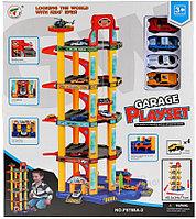 Набор игрушек GuangWei Парковка GARAGE, 5 ярусов серия А 1117734