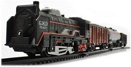 Набор игрушек LCF Rail King Товарный состав 5 вагонов 1028340