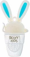 Прорезыватель Roxy Bunny Twist от 6 месяцев голубой