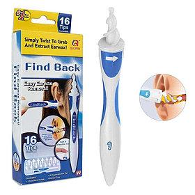 Прибор для чистки ушей Find Back, ухочистка.