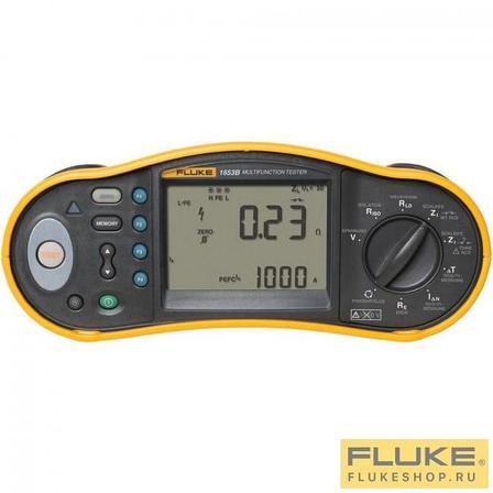 FLUKE 1653В Тестер электрических установок, фото 2