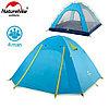 Палатка Naturehike P-Series 4х местная синяя NH18Z044-P