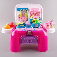 """Игровой набор Besty """"Мобильная кухня"""" в чемодане (стульчик) 1059690"""