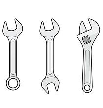 Наборы гаечных ключей
