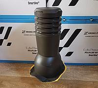 Вентиляционный выход для металлочерепицы АНДАЛУЗИЯ ECO KBX 125 Тёмно-коричневый RAL 8019