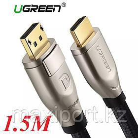 Кабель Ugreen Display Port на Hdmi  1.5 метра Dp to HDMI 4k 60hz