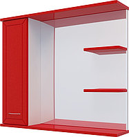 Шкаф DAIVA SHOP Water World Рубин 700 красный