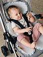 "Детский матрасик в коляску дышащий 3D  Leokid Classic ""Little shell"", фото 8"