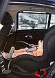 """Солнцезащитная шторка в автомобиль  Leokid """"Hey Dino"""" (50*50), фото 5"""