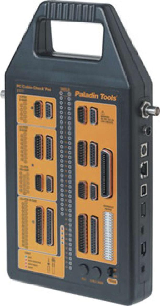 Cable-Check Pro - универсальный тестер компьютерных кабелей (VGA, D-sub, HD-sub, USB, BNC, RJ45/11)