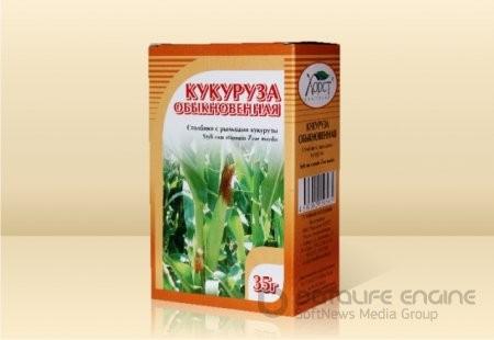 Кукурузные рыльца, столбики и рыльца кукурузы 35гр