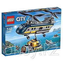 LEGO City: Вертолет исследователей моря 60093