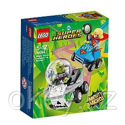 LEGO Super Heroes Mighty Micros: Супергёрл против Брейниака 76094