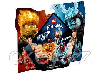 LEGO Ninjago: Бой мастеров кружитцу — Кай против Самурая 70684