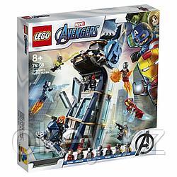 LEGO Super Heroes: Битва за башню Мстителей 76166