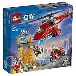 LEGO City: Спасательный пожарный вертолёт 60281