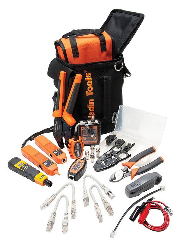 Профессиональный набор инструментов Ultimate Prеmise Service для обслуживания СКС