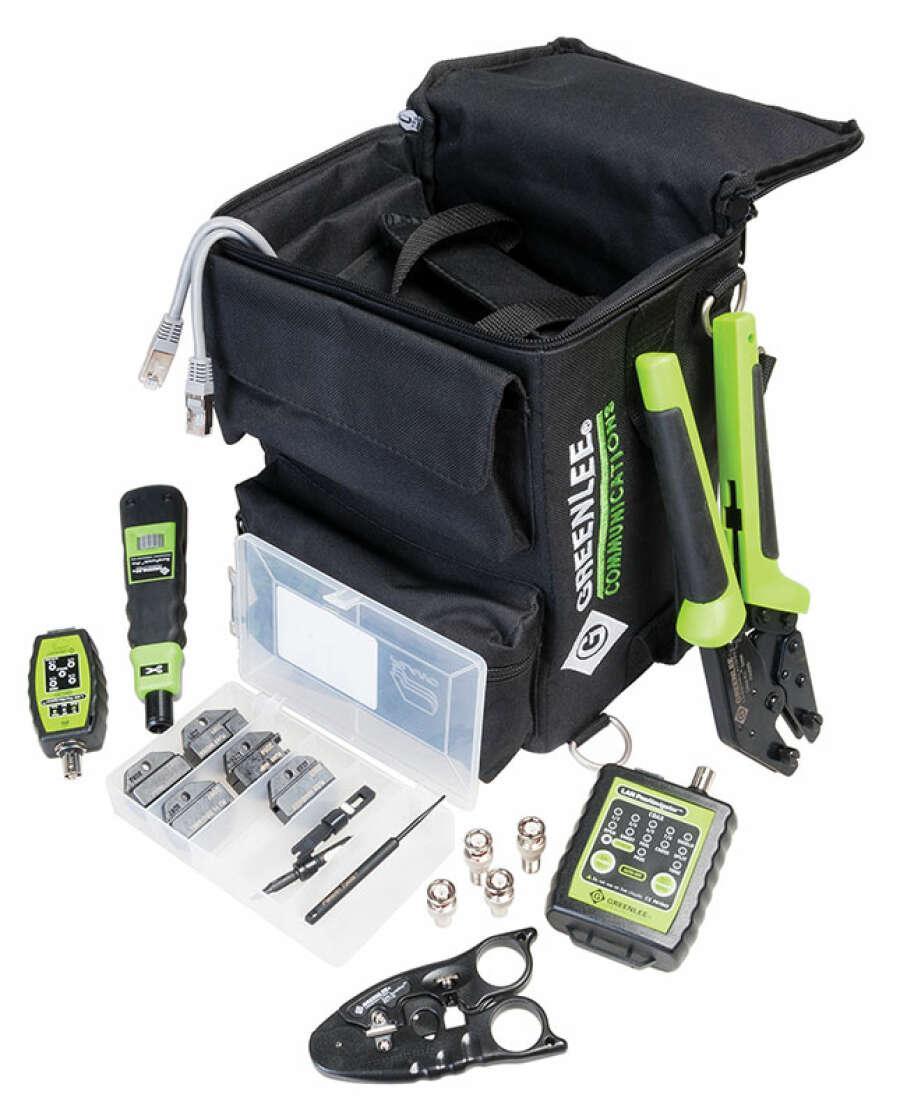 Профессиональный набор инструментов для СКС серии Ultimate DataReady Pro