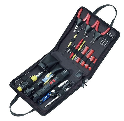 Набор инструментов электронщика 50 предметов Paladin Tools