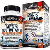 Витамины Bioschwartz Advanced Formula Men's Multivitamin 60 капс
