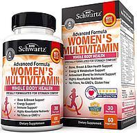 Витамины BioSchwartz Advanced Formula Women's Multivitamin 60 капс