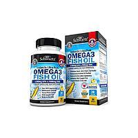Витамины BioSchwartz Icelandic Ultra Pure Omega 3 Fish oil 90 капс