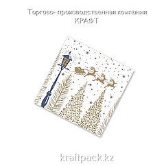 "Салфетки ""Золотой лес"" 33*33 (20 шт/уп - 12 уп/кор)"