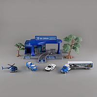 Игровой набор GS Автозаправка Police 1041095
