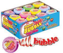 Жеват.резинка  Рулетка Double Bubble Маленькая (48шт-упак) /mertsan Турция/
