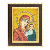 Казанская икона Божьей Матери багет 15х20 см