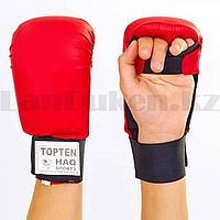 Перчатки для каратэ Top ten красные размер L