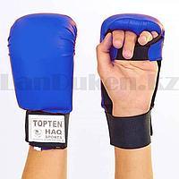 Перчатки для каратэ Top ten синие размер S