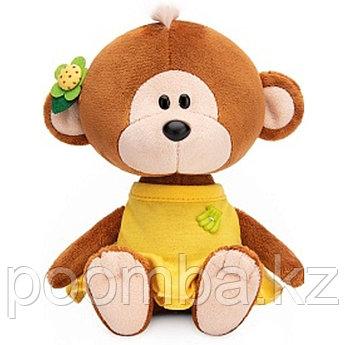 Мягкая игрушка Обезьянка Отиша в желтом платье