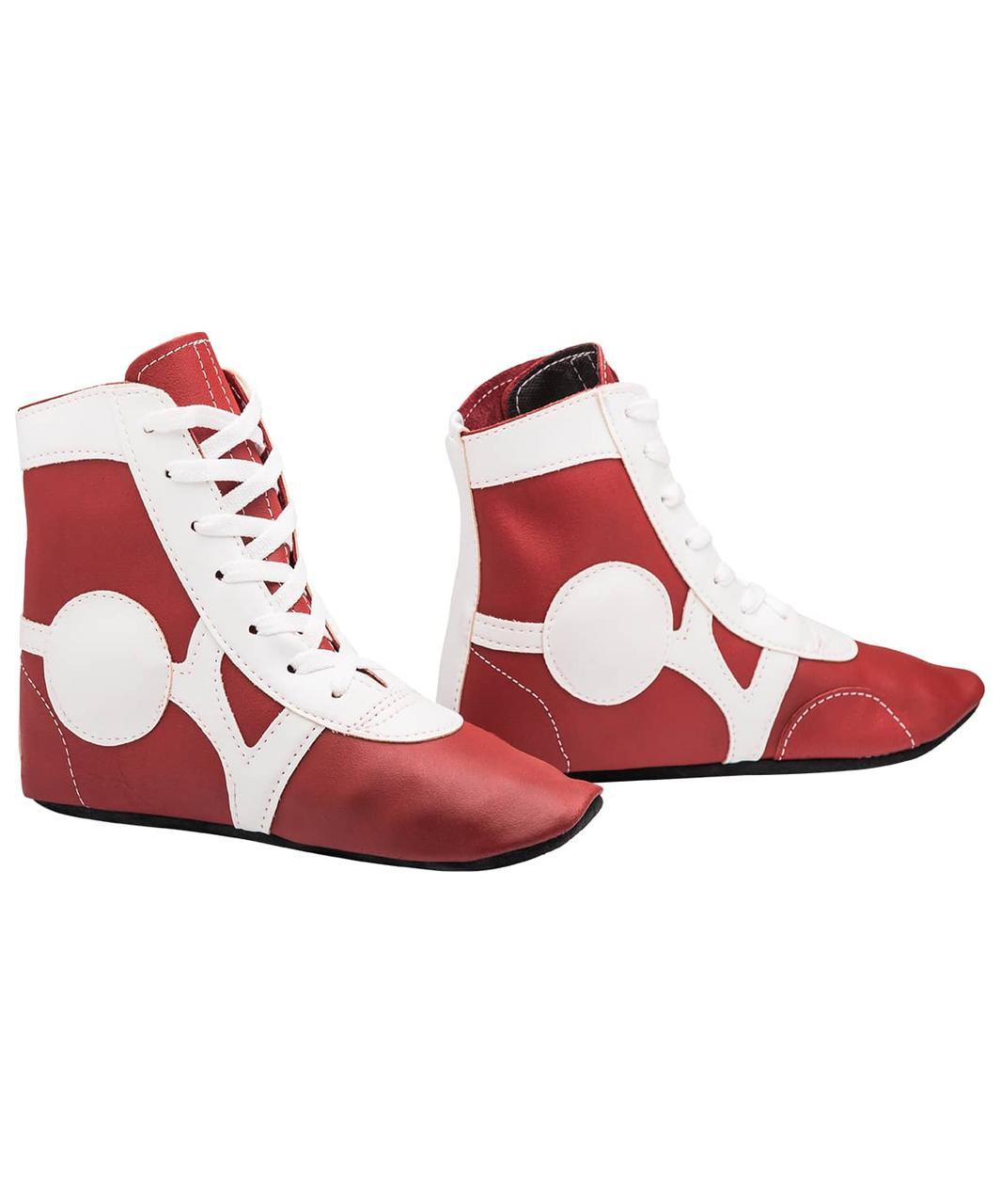 Обувь для самбо  кожа  Rusco