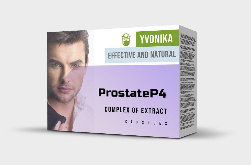 ProstateP4 (ПростатеП4) - капсулы от простатита