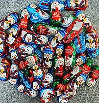 Шоколадные новогодние фигурки (снеговичок, пингвины, санта) 1кг