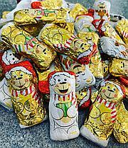 Шоколадные новогодние фигурки (собачки, медвежата) 1кг