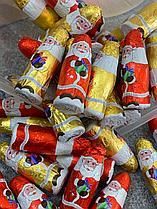 Шоколадные новогодние фигурки (Санта, дед мороз) 1кг