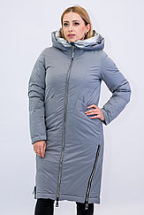 Куртка женская зимняя Evacana светло- серая