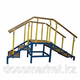 """Лестница для упражнений в ходьбе, """"Я Могу"""" Материал ступеней: фанера арт. 504.2"""
