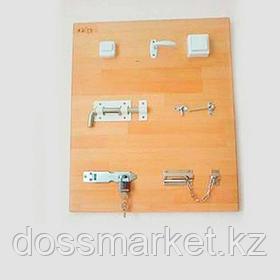 """Панель настенная с тренажерами для эрготерапии 50х60 см. (кол-во тренажеров-8) """"Я Могу"""" арт. 402.2"""