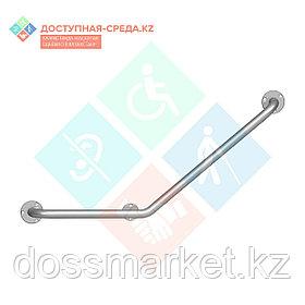 """Поручень для инвалидов """"Доступная-среда.kz"""" (P-N) (настенный угловой 40 градусов)"""