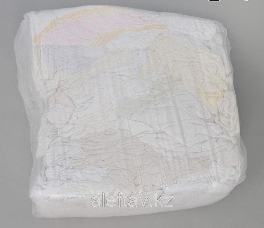 Ветошь белая, фланелевая, 10кг