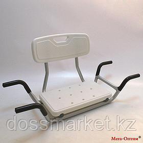Сиденье для ванной комнаты KJT 504 со спинкой