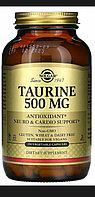 Таурин 500 мг Solgar 250 капсул