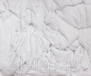 Ветошь трикотажная белая, 10кг, фото 2