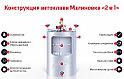 Автоклав «Malinovka 2 в 1» 20 л, фото 2