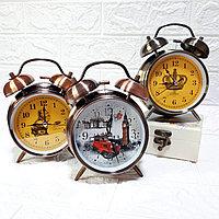 """Часы-будильник с подсветкой """"Ретро"""", средние., фото 1"""