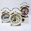 """Часы-будильник с подсветкой """"Винтаж"""", средние."""
