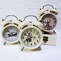 """Часы-будильник с подсветкой """"Винтаж"""", средние., фото 1"""